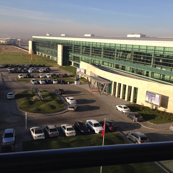 Photo taken at Ankara Esenboğa Airport (ESB) by ÖMER Ş. on 11/12/2013