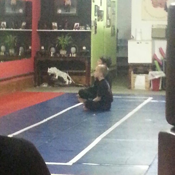 Photo taken at Meng's Martial Arts of Richmond by Christopher R. on 10/17/2013
