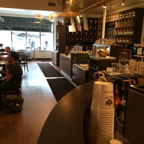 Outstanding coffee shop.  Things don't taste burnt here.