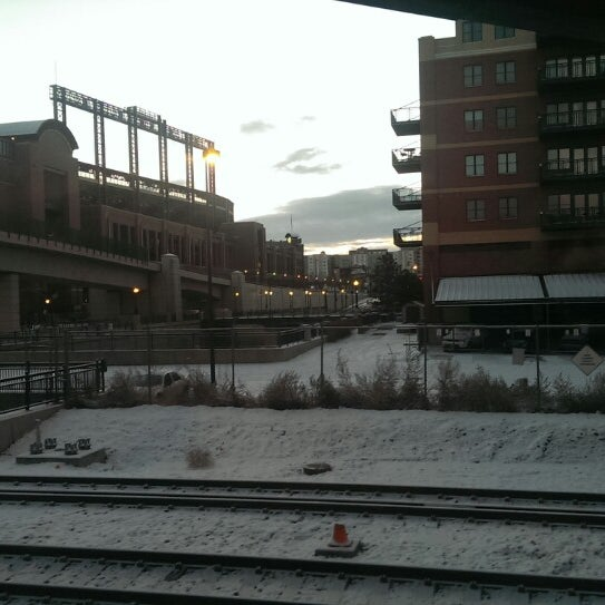 Photo taken at Denver Amtrak (DEN) by Christopher F. on 12/29/2013