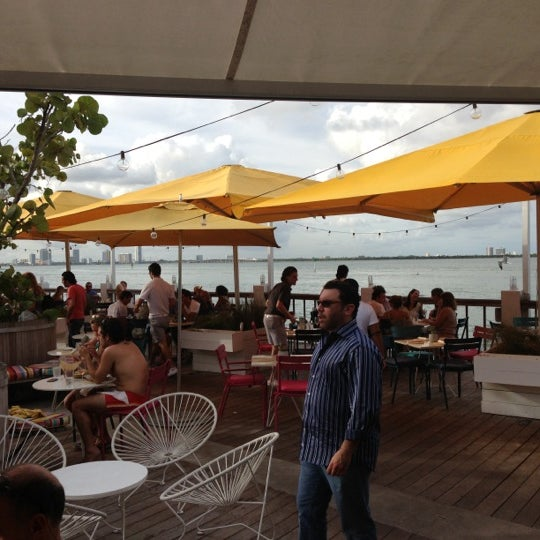 Photo taken at The Standard, Miami Beach by Melissa B. on 12/16/2012