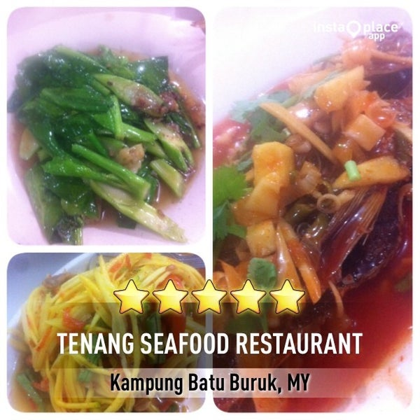 Photo taken at Tenang Seafood Restaurant by Erman M. on 12/23/2013