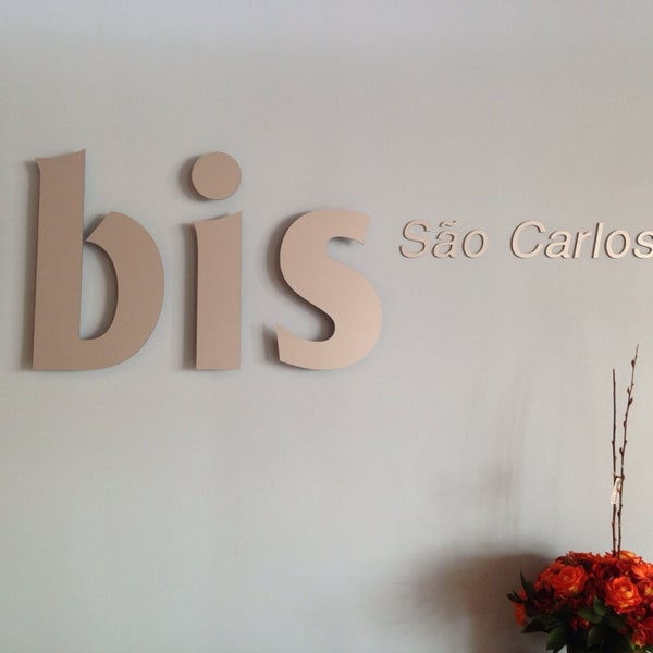 Photo taken at ibis São Carlos by Luca d. on 1/14/2014