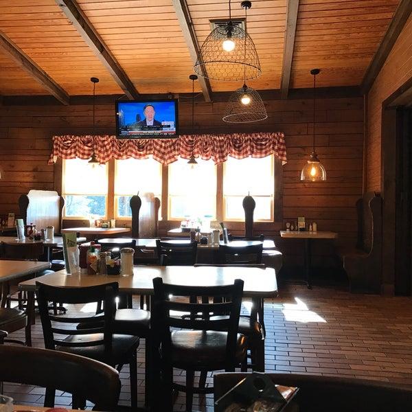 Photo taken at JR's Log House Restaurant by Neal E. on 1/31/2017