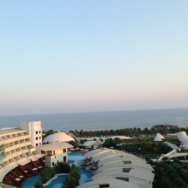 Photo taken at Cornelia Diamond Golf Resort & Spa by Soner A. on 7/15/2013