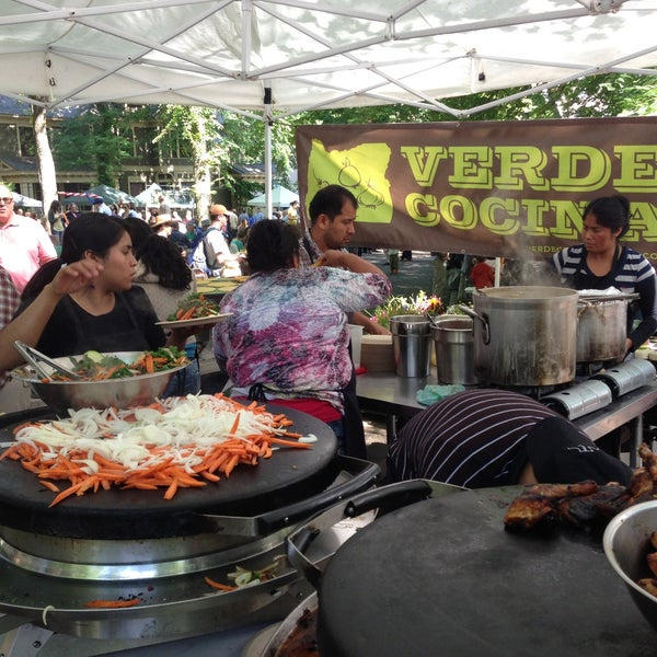 Photo taken at Portland Farmer's Market at PSU by James P. on 6/15/2013