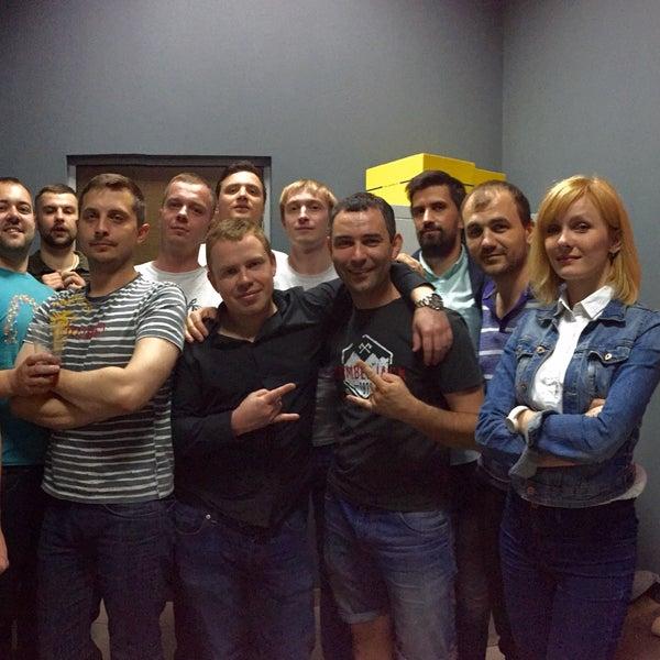 Das Foto wurde bei Сити Квест & Скаут квест комната von Denis D. am 6/3/2016 aufgenommen