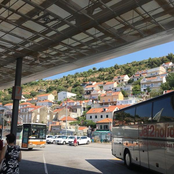 Photo taken at Autobusni Kolodvor Dubrovnik | Dubrovnik Bus Station by Alethea F. on 8/3/2017