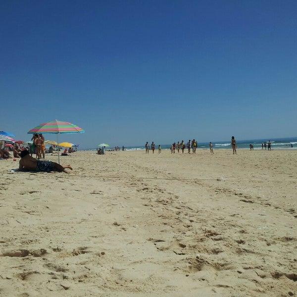 Photo taken at Praia do Barril by Jose A. on 8/11/2013