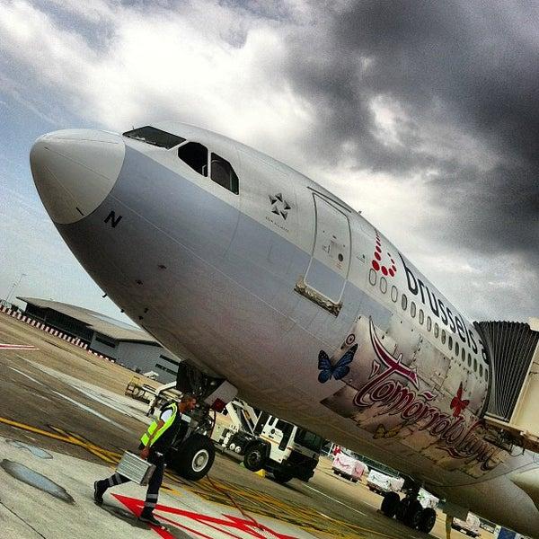 Снимок сделан в Брюссельский аэропорт (BRU) пользователем Kevin V. 7/24/2013