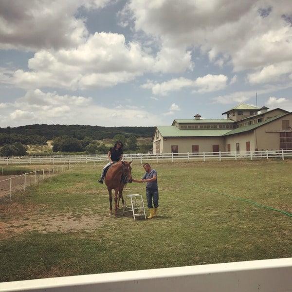 6/16/2018 tarihinde Özge T.ziyaretçi tarafından Olimpos At Çiftliği'de çekilen fotoğraf