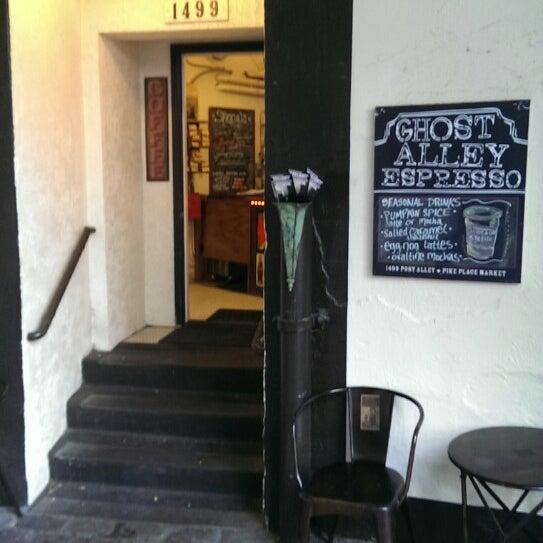 Photo taken at Ghost Alley Espresso by Matt R. on 11/11/2013