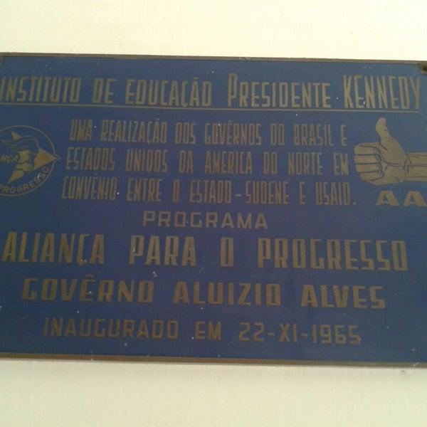 Resultado de imagem para Inauguração do Instituto Kennedy em natal RN