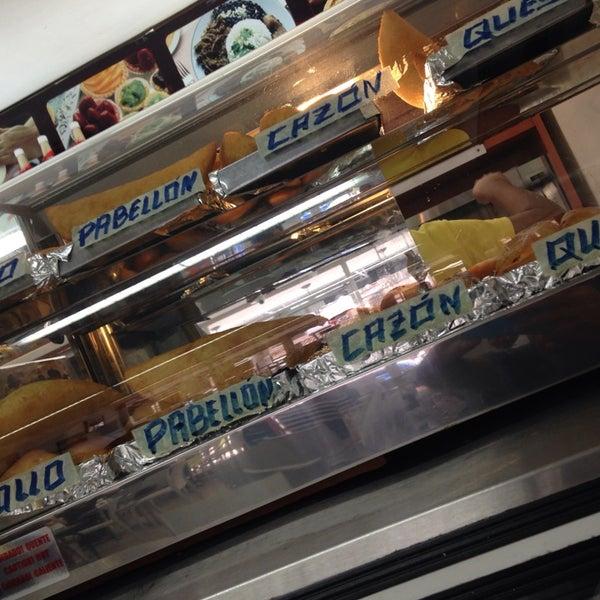 Photo taken at Panadería Los Venezolanos by Fred O. on 3/26/2014