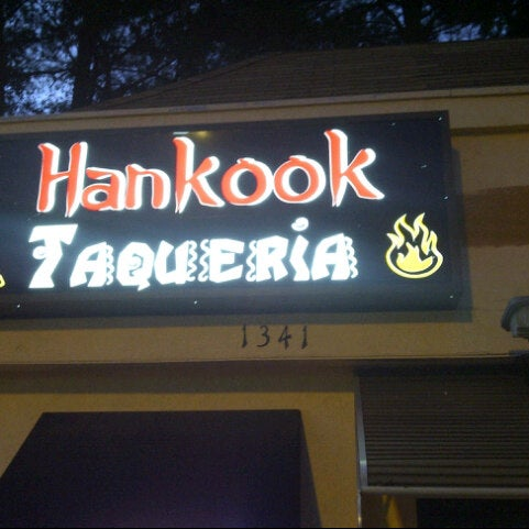 Photo taken at Hankook Taqueria by BeerGeekATL E. on 10/3/2012