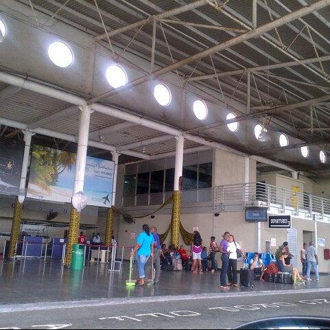 Photo taken at A.N.R. Robinson International Airport (TAB) by Sherridan K. on 8/3/2013