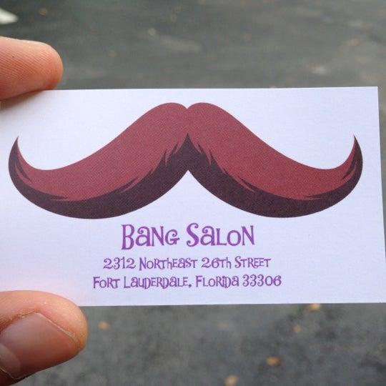 Photo taken at Bang Hair Salon by Jayme B. on 12/6/2012