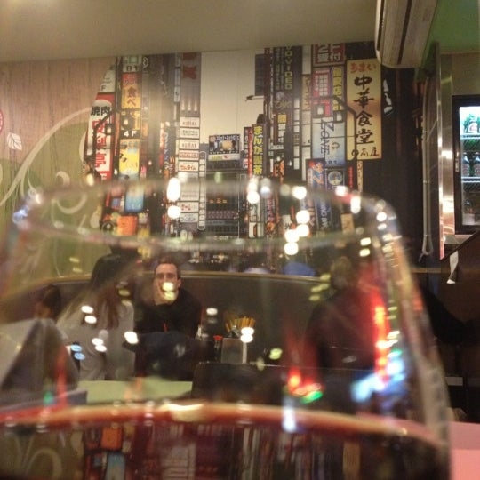 Photo taken at Gigi Sushi Bar by Kellie T. on 11/23/2012