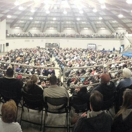 Photo taken at Waukesha County Expo Center by Randy M. on 3/23/2014