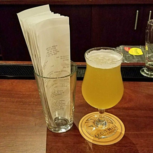 Photo taken at Iron Hill Brewery & Restaurant by Gerry D. on 5/20/2017