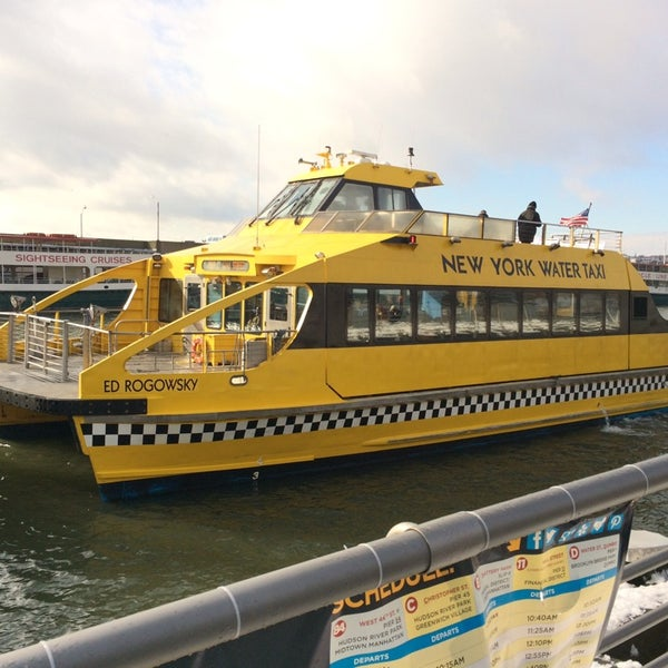 New York Water Taxi Pier 84 West 44th Street Hell S