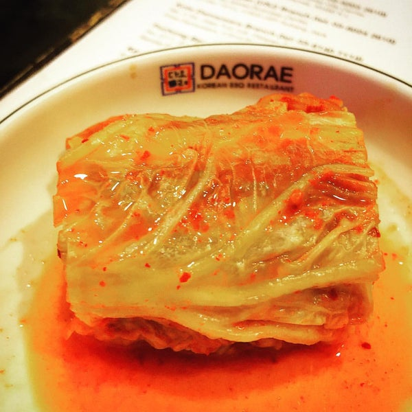 Photo taken at Daorae Korean BBQ Restaurant by NeMeSiS on 9/18/2015