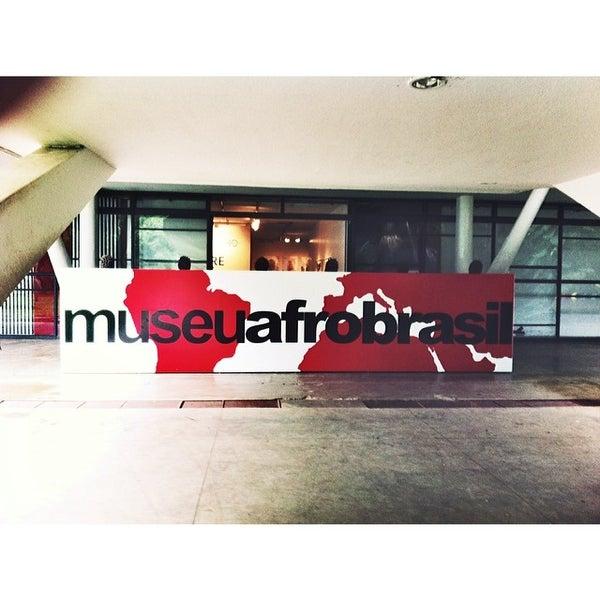 Foto tirada no(a) Museu Afrobrasil por Guilherme M. em 2/26/2014