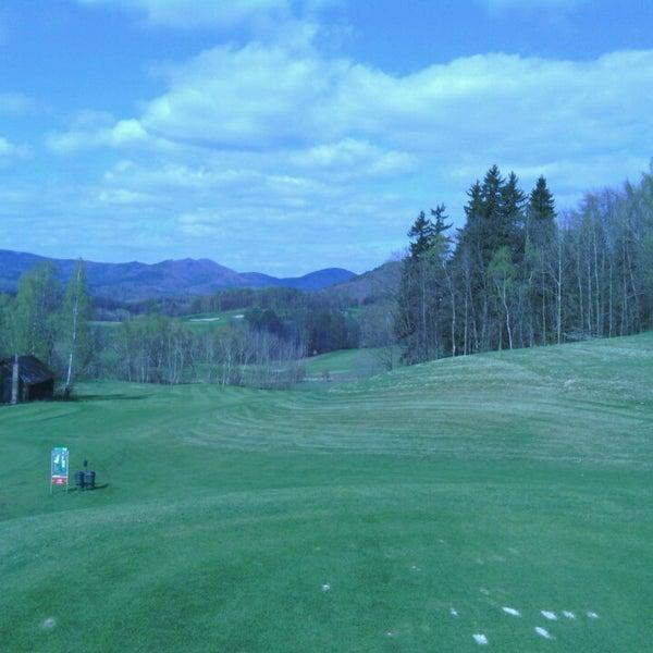 Photo taken at Ypsilon Golf Resort Liberec by Martin L. on 4/11/2014
