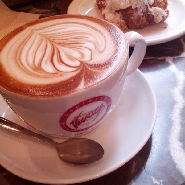 Photo taken at Espresso Vivace by Rachel K. on 2/18/2013