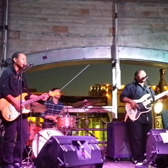 Photo taken at 512 Rooftop by Patrick P. on 3/12/2014