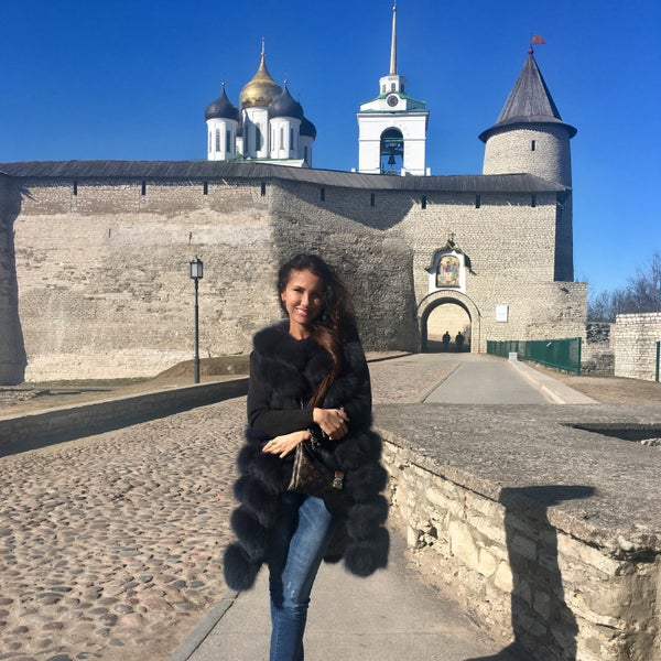 Photo taken at Pskov by Ю on 3/30/2017