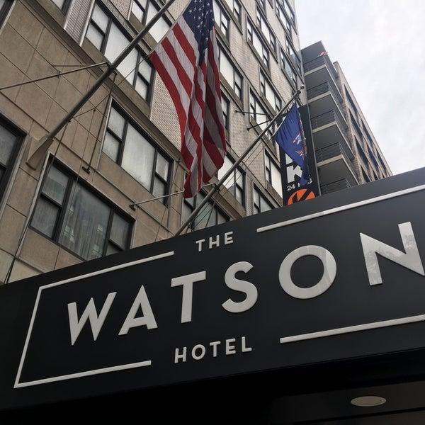 Foto diambil di The Watson Hotel oleh Kotaro U. pada 8/18/2018