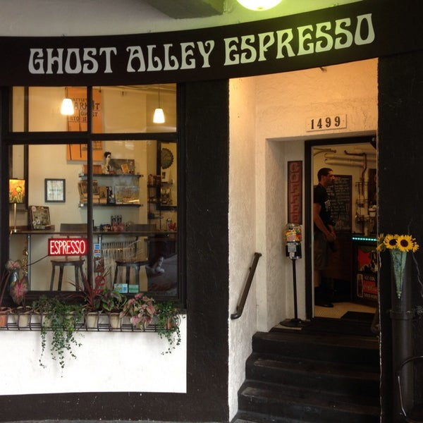 Photo taken at Ghost Alley Espresso by David H. on 9/6/2013