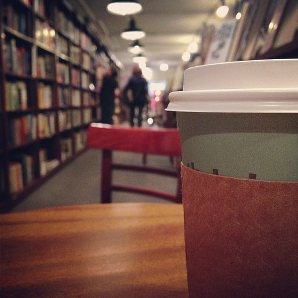 Photo taken at Housing Works Bookstore Cafe by Rebecca B. on 10/16/2012