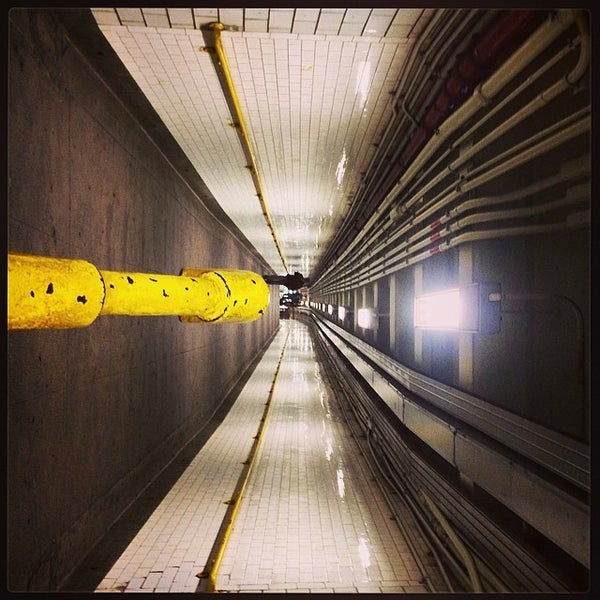 Photo taken at MTA Subway - York St (F) by David B. on 3/15/2014