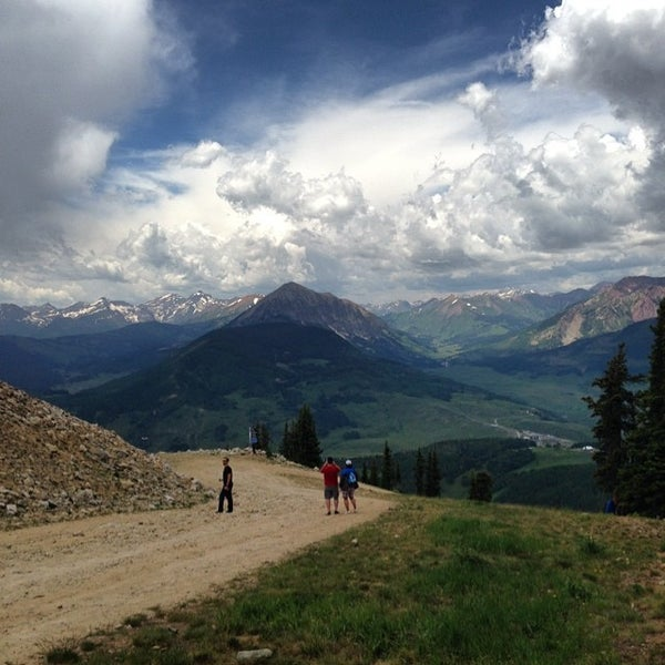 Photo taken at Crested Butte, CO by Jason R. on 7/15/2014
