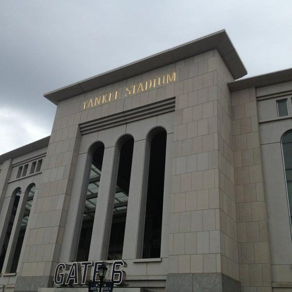 Photo taken at Yankee Stadium by Zach T. on 7/28/2013