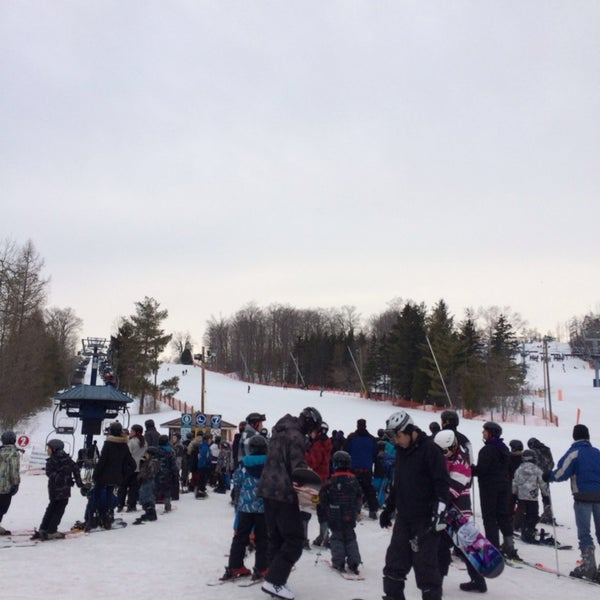 Photo taken at Chicopee Ski & Summer Resort by Rebecca H. on 3/14/2014