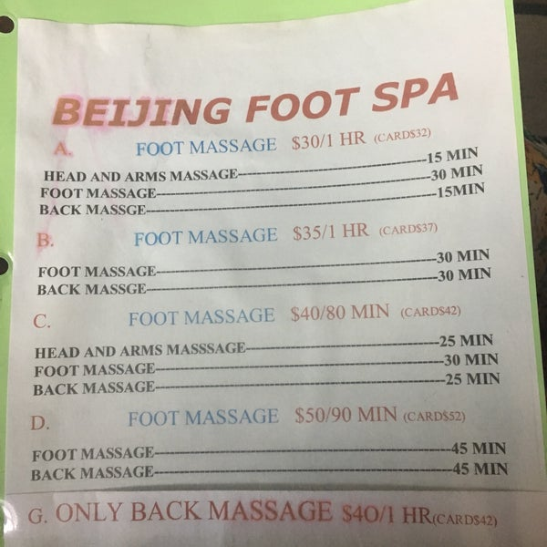 Happy Foot Spa Austin