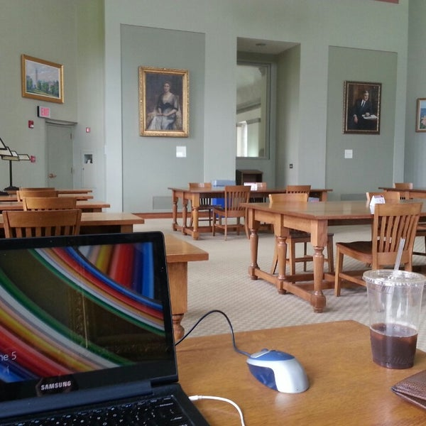 Photo taken at Uris Library by Tristan O. on 6/5/2014