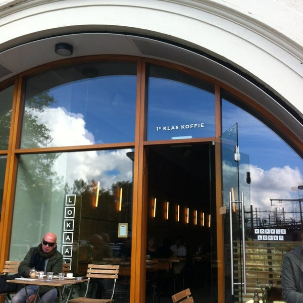 Photo taken at Lokaal Espresso by Pepijn V. on 10/5/2013