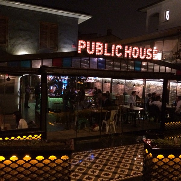 Photo Taken At Public House By Serhat A. On 3/8/2014