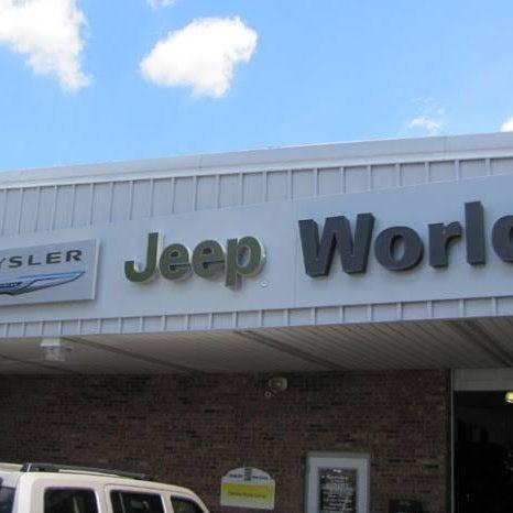 Photo Taken At World Jeep Chrysler Dodge Ram By World J. On 7/25
