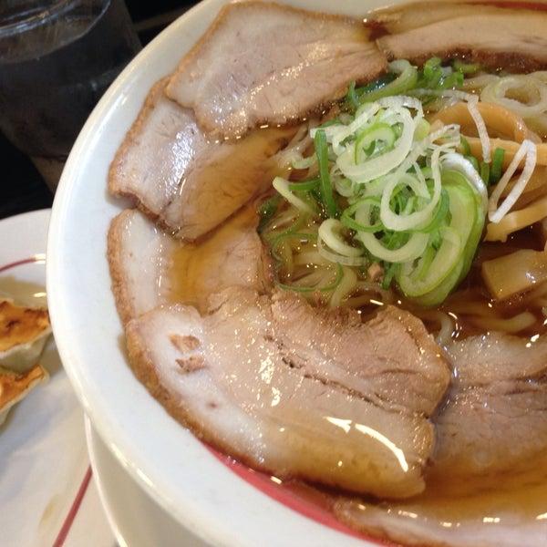 10/7/2013 tarihinde Jun I.ziyaretçi tarafından 幸楽苑 東大和店'de çekilen fotoğraf
