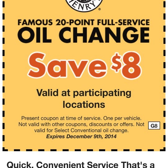 Jiffy Lube Coupons. You're in luck! We found a few coupons redeemable at your nearest Jiffy Lube® location. You can print these coupons at home and bring them in with you on your next visit, or you can opt to provide us an email address so we can email you coupons .