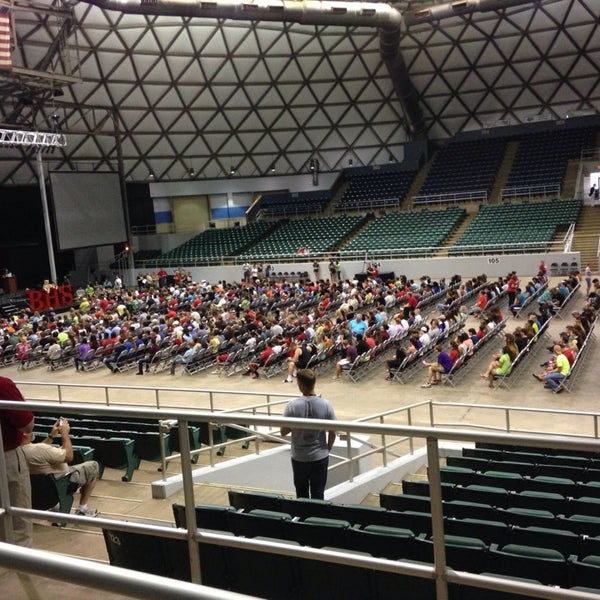 Photo taken at Bell County Expo Center by Kelli W. on 6/5/2014