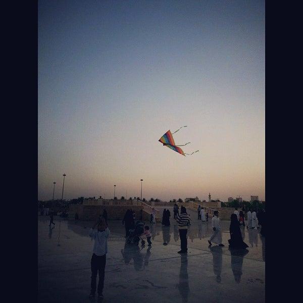 Photo taken at King Abdullah Park by Lafa ღ. on 11/1/2013