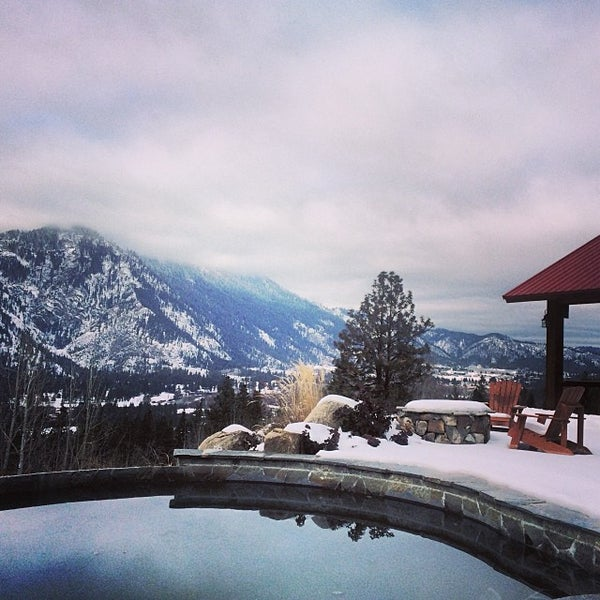 Photo Taken At Red Roof Lodge By Becky G. On 2/1/2014