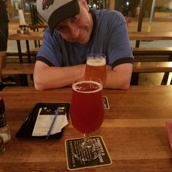Photo taken at Würst Bier Hall by Tanya M. on 7/21/2018