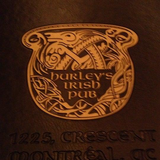 Foto tomada en Hurley's Irish Pub por Isabel P. el 12/2/2012